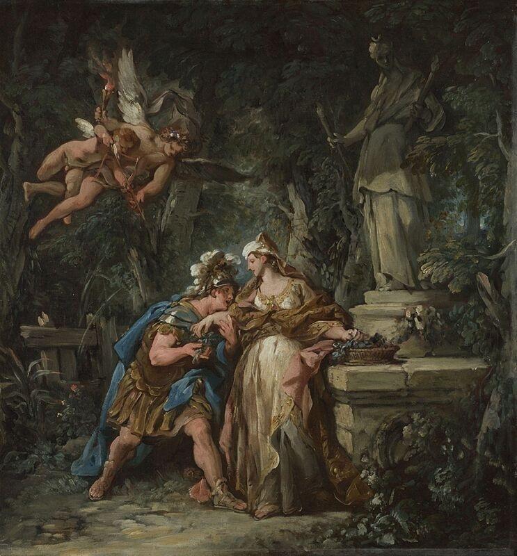 Jason swearing Eternal Affection to Medea