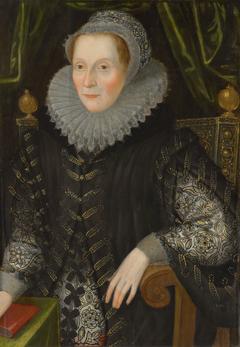 Joan Stint, Mrs George Evelyn (1550-1613)