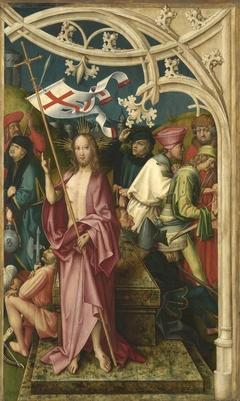 Kaisheimer Altar: Auferstehung Christi