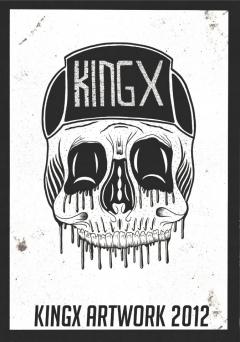 KINGX Skull Cap