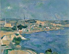 La Baie de Marseille, avec vue sur le village Saint-Henri près de l'Estaque