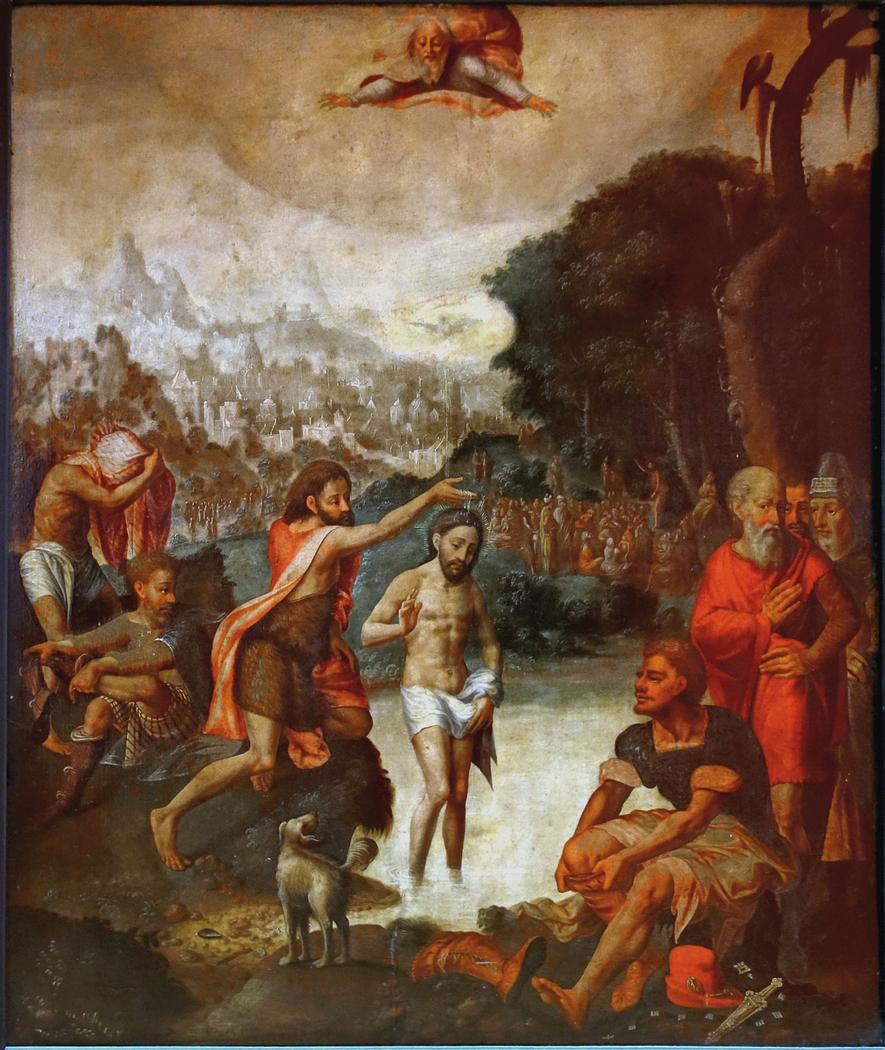 La baptême du Christ
