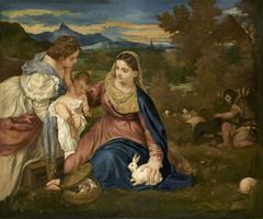 La Vierge au lapin