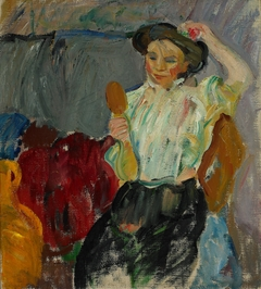 Lady with Hand Mirror