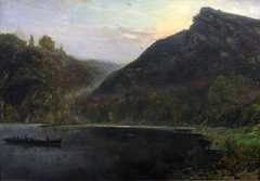 Landscape at the river Meuse