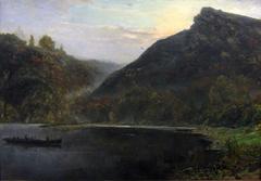 Landscape at the river Meuse