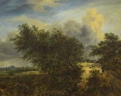 Landscape Showing Haarlem Church