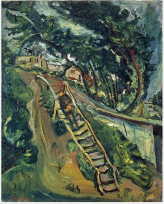 Landscape with Flight of Stairs