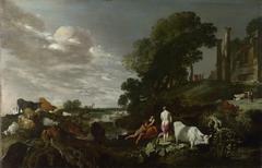 Landscape with Mythological Figures