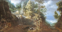 Landscape with the Temptation of Saint Anthony