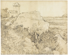 Landscape at Montmajour Abbey Arles