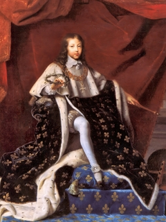 Louis XIV of France in Coronation Robes