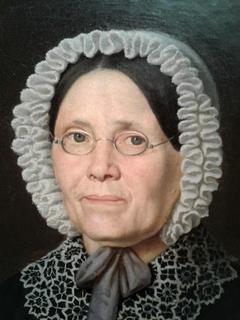 Madame François Bourassa, née Geneviève Patenaude, mère de l'artiste