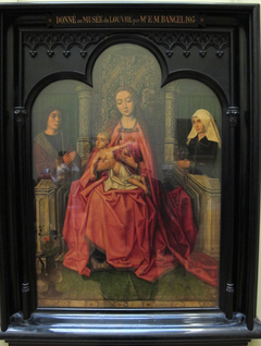 Madonna and Child between Two Donors