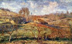 March Sun, Pontoise
