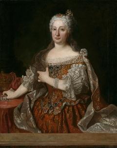 María Ana de Austria reina de Portugal