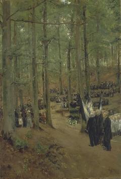 Memorial Service for Emperor Frederick at Kösen