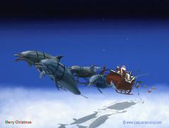 Merry Christmas ! CLAUS U/W TOUR HOHOHO! - by Pascal
