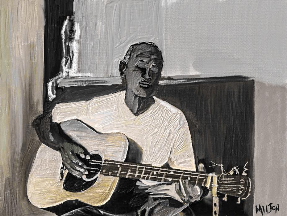Mississippi Delta Blues Man