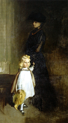 Mrs. Alexander Sedgwick and Daughter Christina