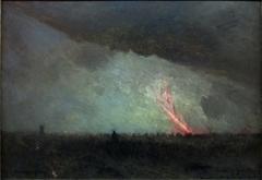 Nuit de janvier, après une bataille