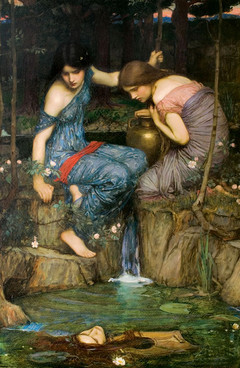 Nymphs Finding the Head of Orpheus
