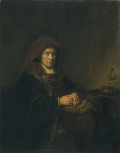 Old Woman with Spectacles