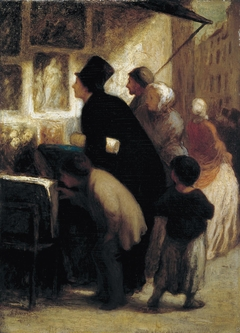Outside the Print–Seller's Shop