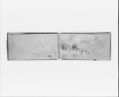 Panorama of Roman Campagna, Nov. 12, 1868 (from Sketchbook)