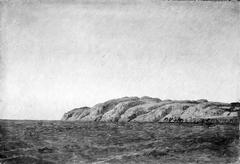 Parti af Kullen fra søen udfor Mølleleje