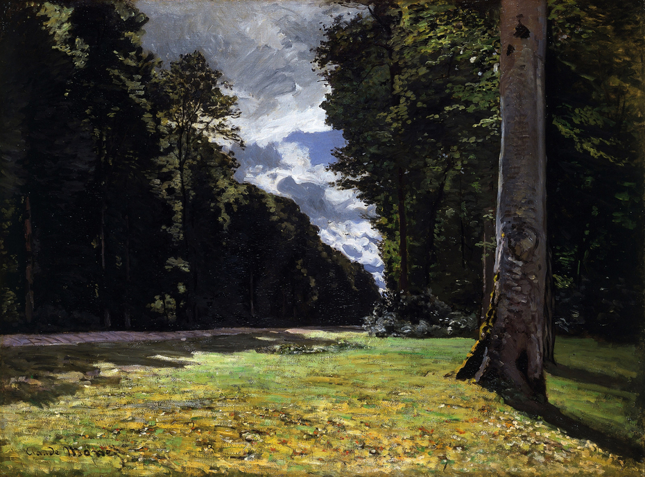 Pavé de Chailly in the Fontainebleau forest