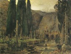 Pax (The cemetery of Gravosa near Ragusa)