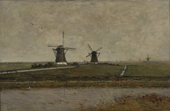 Polder with Mills near Overschie
