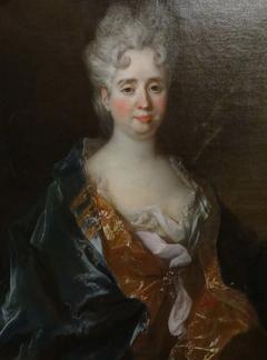 Portrait d'Anne-Thérèse de Marguenat de Courcelles, marquise de Lambert (1647-1733)