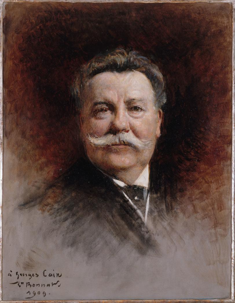 Portrait de Georges Cain (1853-1919), peintre et littérateur