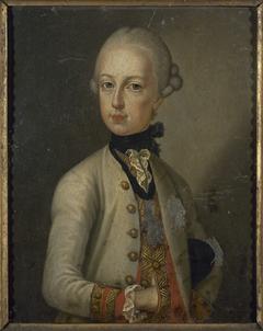 Portrait de Joseph II (1741-1790), empereur du Saint-Empire.