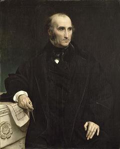 Portrait de l'architecte Charles Benvignat