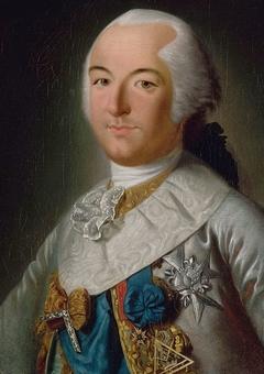 Portrait de Louis-Philippe-Joseph d'Orléans, duc de Chartres (futur duc d'Orléans Philippe-Egalité), en costume de Grand-Maître des Francs-Maçons