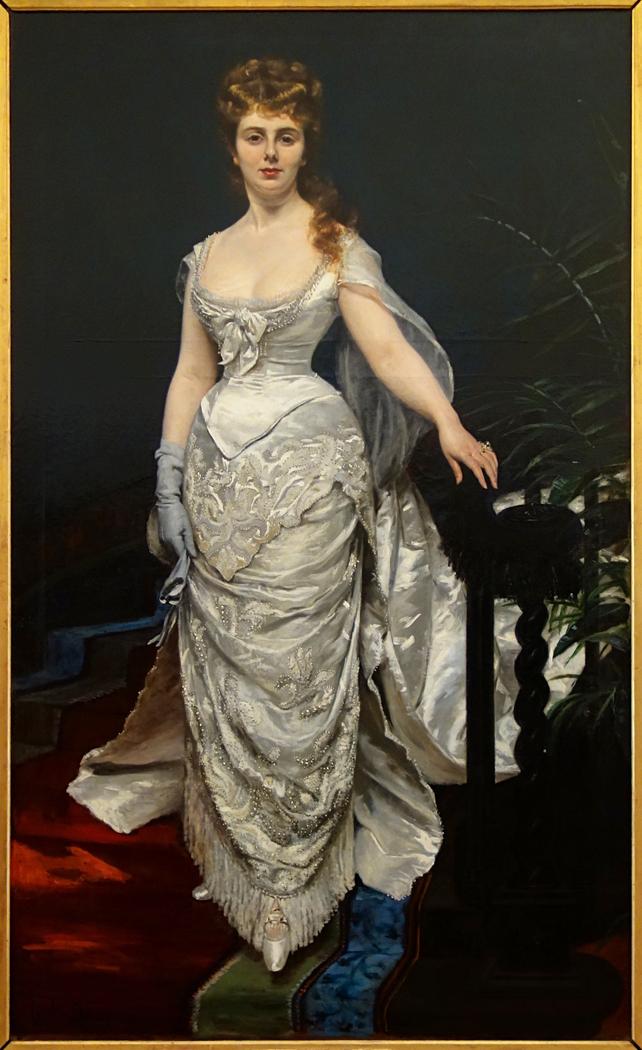 Portrait de Mademoiselle X, Marquise Anforti