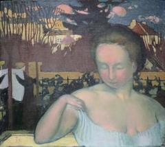 Portrait de Marthe Denis, femme de l'artiste