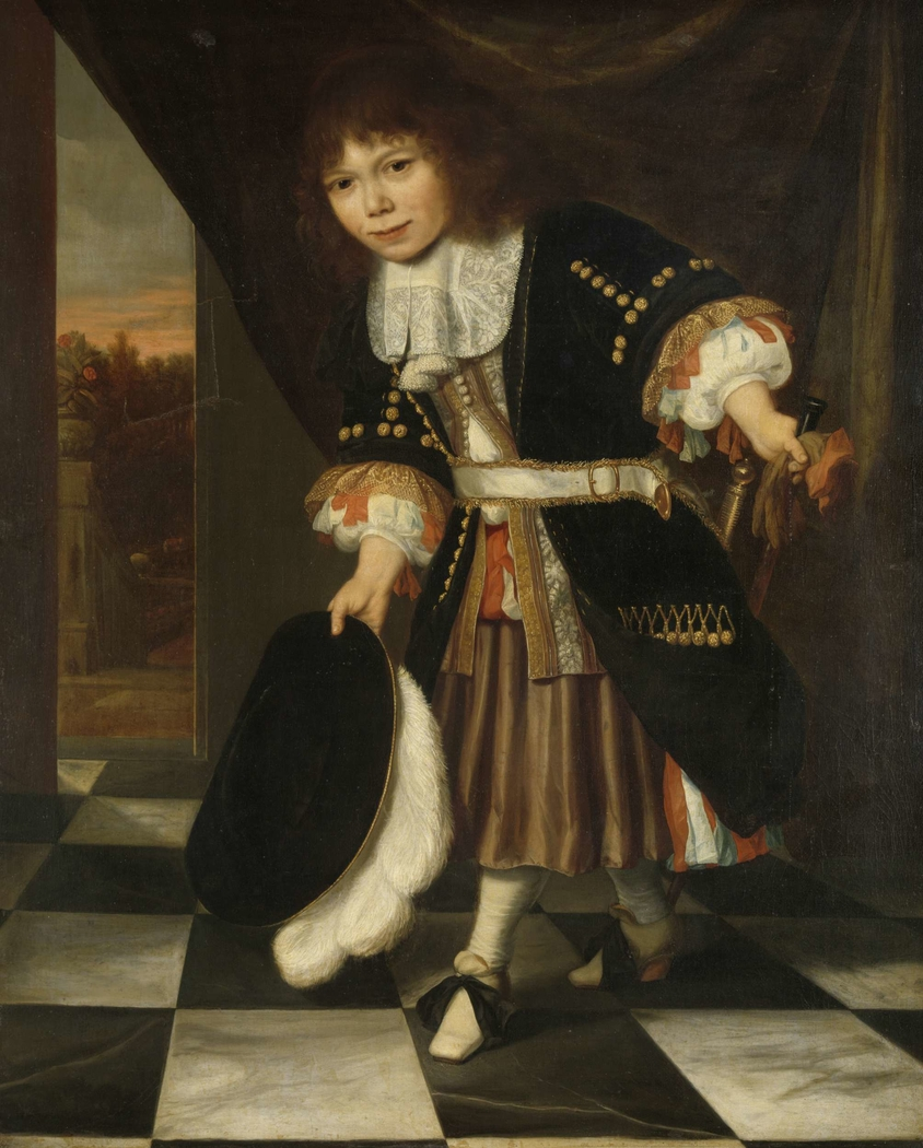 Portrait of a Boy, called The Young Son of Admiral van Nes (The Admiral's Son)