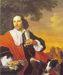 Portrait of a Man with his Dogs