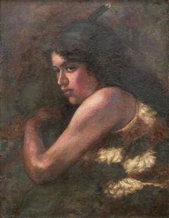 Portrait of a Maori Woman