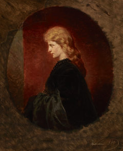 Portrait of a Red-Haired Woman