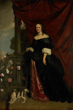 Portrait of a Woman, possible Sophia Anna van Pipenpoy, Countess van Schellart