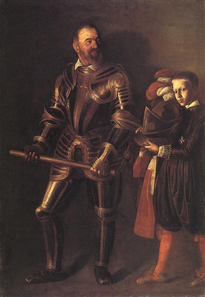 Portrait of Alof de Wignacourt and his Page