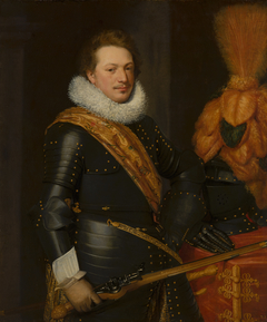 Portrait of an Officer, presumably Johan Wolfert van Brederode (1599-1655)
