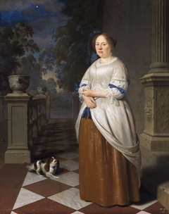 Portrait of Anna Splinter, wife of Johan Hulshout (1623–1687)