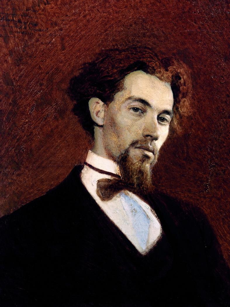 Portrait of Artist K.A. Savitsky