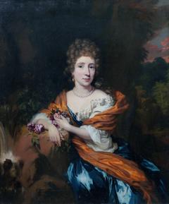 Portrait of Baroness van Heeckeren
